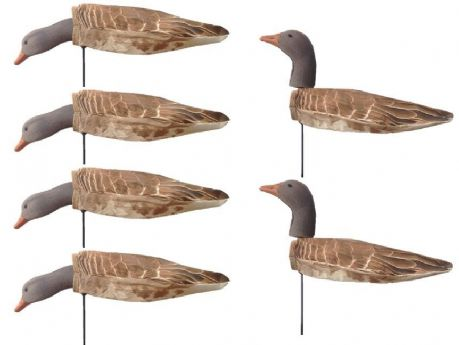 WINDSOCK Goose Decoys GREYLAG Geese Decoy GREYS Shooting Geese Decoying Robust